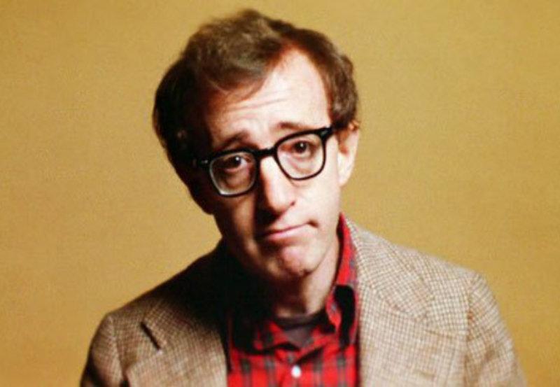 Woody Allen en un fotograma de la película Annie Hall