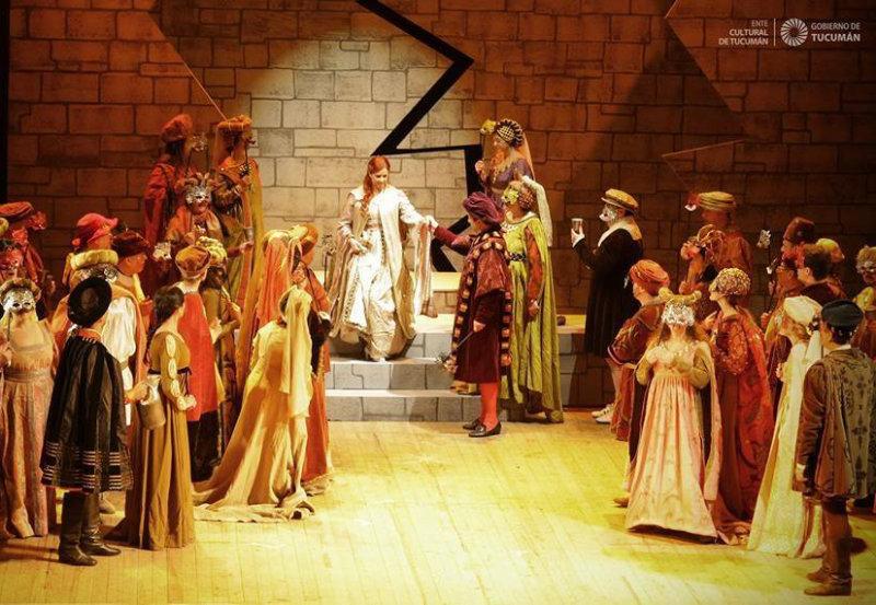 Ópera Romeo y Julieta Ente Cultural Gobierno de Tucumán
