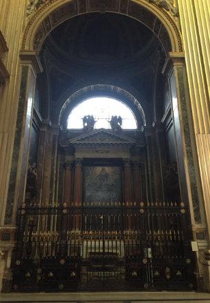 Sant'Andrea dalla Valle. Capilla Barberini.