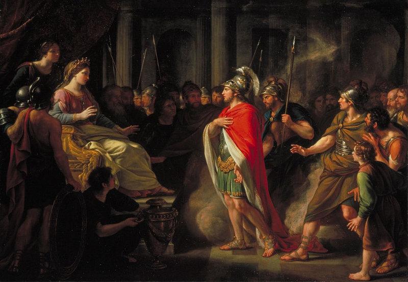El Encuentro de Dido y Eneas de Nathaniel Dance Holland