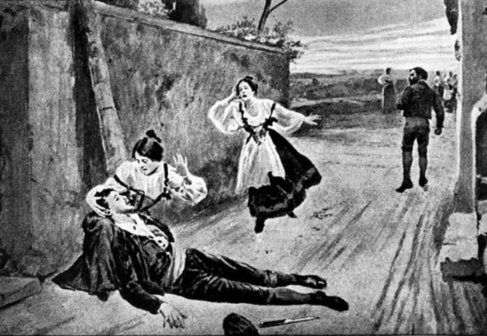 Cavalleria Rusticana, La ópera que grita como nosotros frente a un asesinato