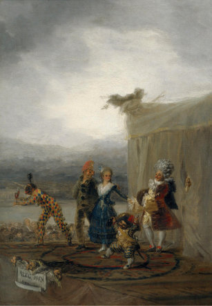 Cómicos ambulantes, de Francisco de Goya 1793. Museo del Prado.