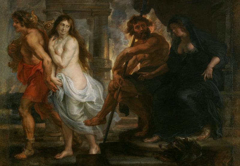 Orfeo y Euridice (1636/1638) Pedro Pablo Rubens